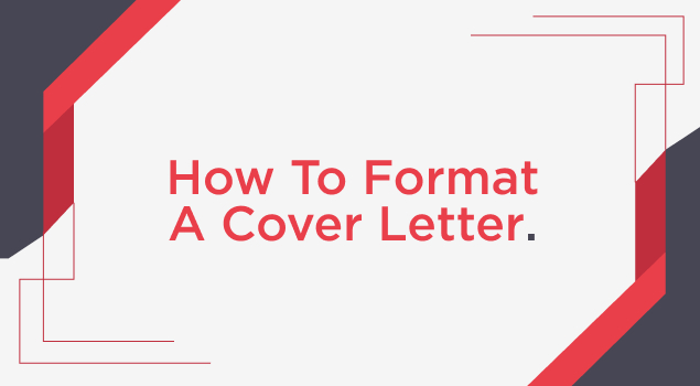 How To Format A Cover Letter Image