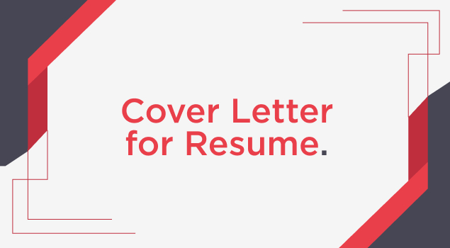 How to Write a Cover Letter for Resume Image